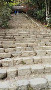結婚相談所奈良・室生寺の階段