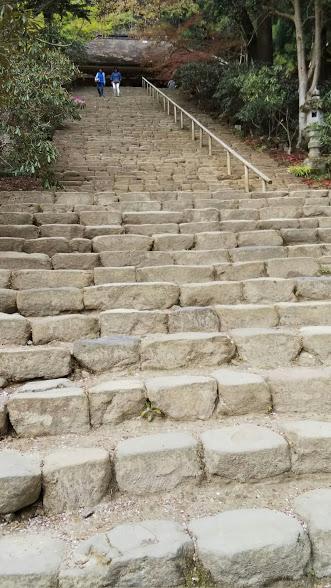 結婚相談所奈良・室生寺の石階
